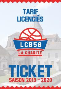 LCB-58 VS AVIGNON // 15/02/2020 à 20H (licenciés)