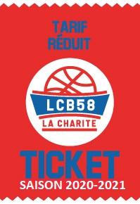 Ticket réduit 2020-2021