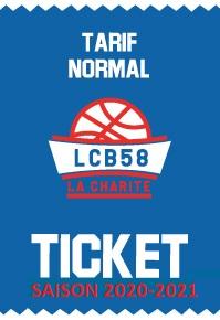 Ticket normal 2020-2021